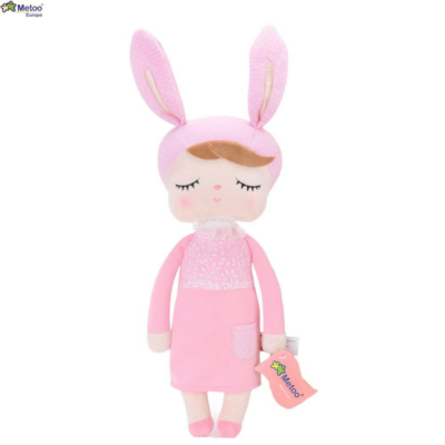 Metoo – Angela nyuszi rózsaszín (40 cm)